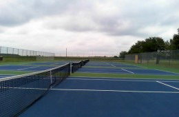 Hauser Tennis Courts